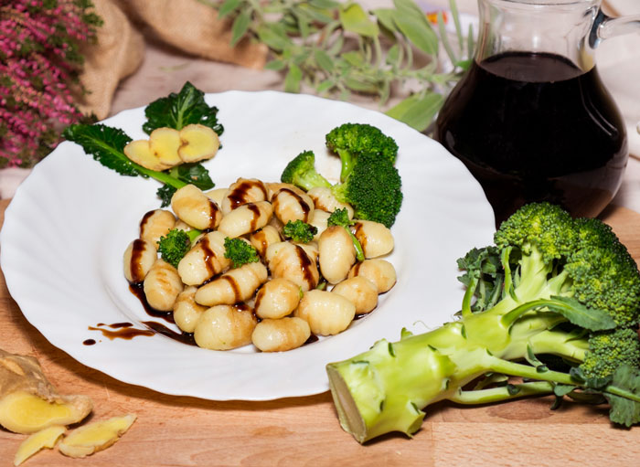 Lambrusco e broccoli