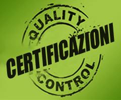 Certificazioni di Qualità PAIP
